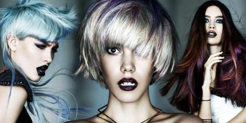 Fotostylista Británie 2015 (Photographic Stylist – NHF): výherkyně třetí dámské kategorie Fashion Collection – Caroline Sanderson, Ego Hair Design.