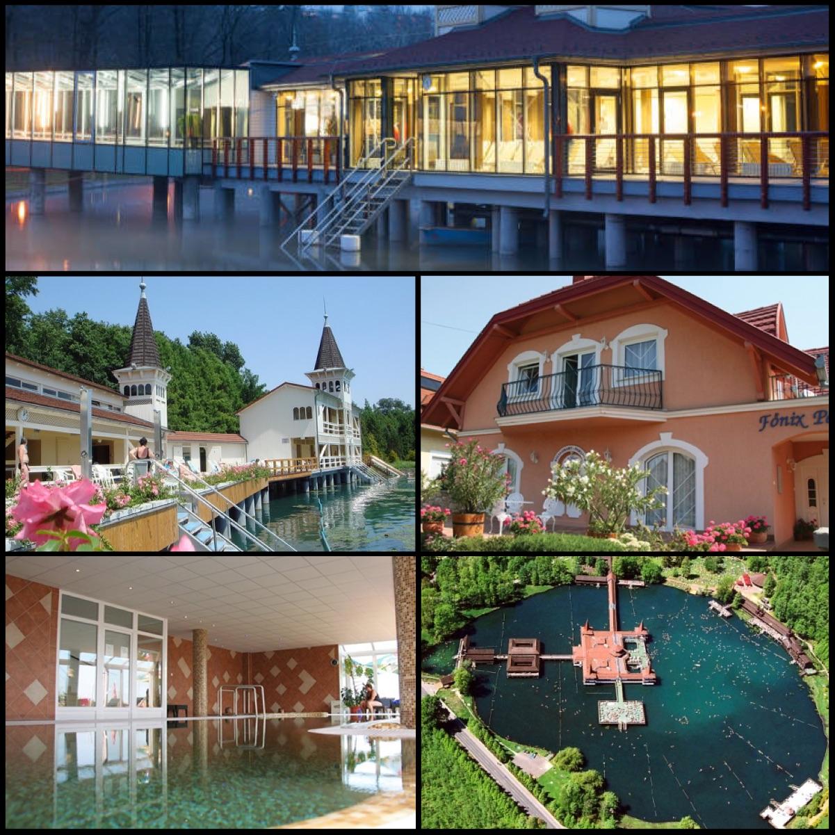 Maďarské termální lázně ve městě Hevíz nabízí zážitek z koupání v jednom z největších termálních jezer v Evropě. Teplota vody v jezeře neklesá ani v zimě pod 26 až 28 stupňů.