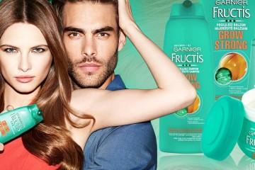 Slabé vlasy umí potrápit. Obvykle jsou náchylné k vypadávání vlasů, lámavosti i malému objemu. Nová kosmetická řada Garnier Fructis Grow Strong jim pomůže.