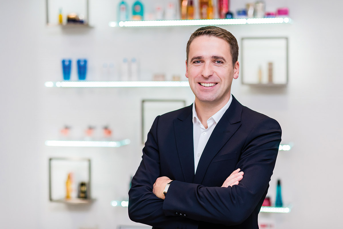 Tomáš Hruška je nový generální ředitel L'Oréal pro Česko, Slovensko a Maďarsko.