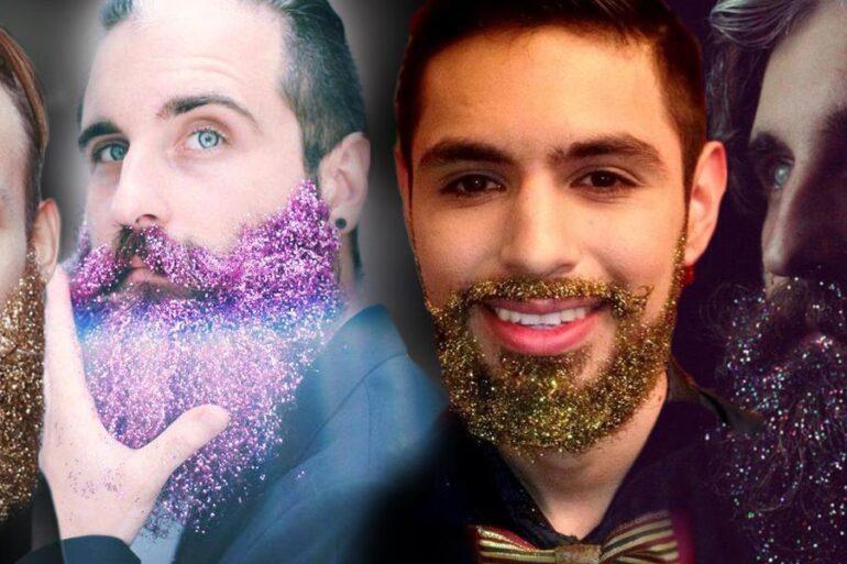 Móda hipsterů – parádní vousy, jde do fáze 2.0. Nosí se glitter beard – neboli třpytky ve vousech. Jakou barvu třpytu si vyberete pro svůj plnovous?