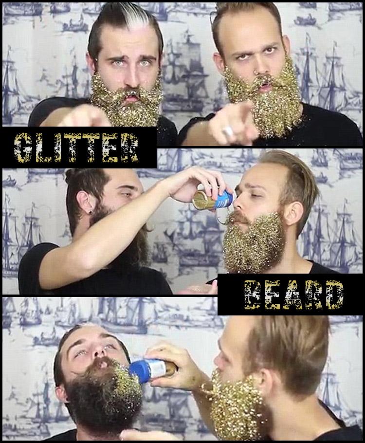 Glitter beard – neboli třpytky ve vousech, jsou hitem sociálních sítí. Zkuste je taky a nezapomeňte zvěčnit svoji maličkost na fotografii!