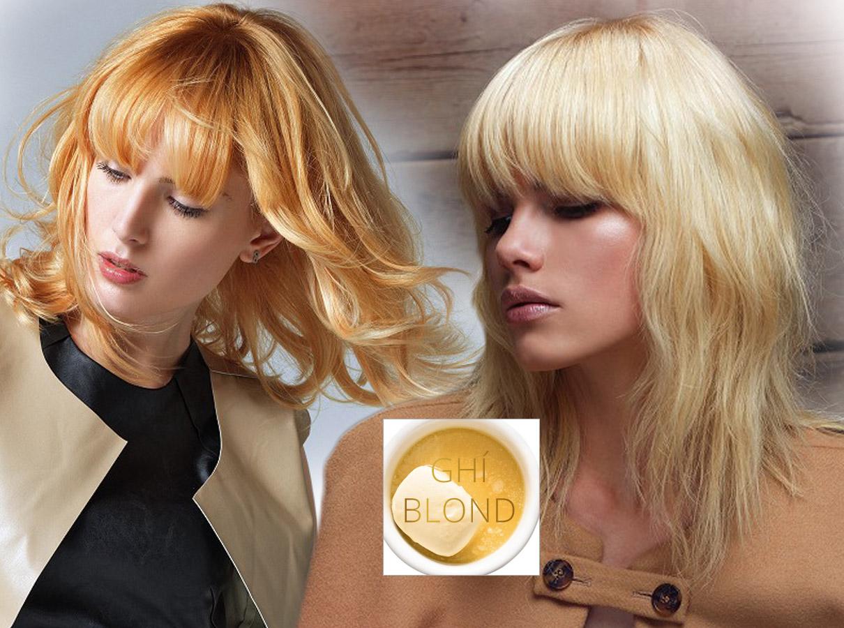 Barvy pro polodlouhé vlasy – trendy podzim/zima 2015/2016: Ghí blond pro ty, pro které je blond barva barvou Zlatovlásek.