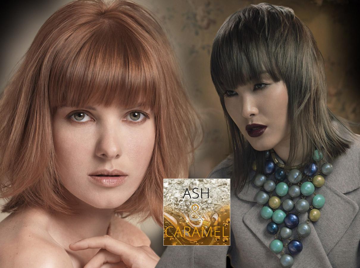 Barvy pro polodlouhé vlasy – trendy podzim/zima 2015/2016: Hnědá ve vlasech jako popel i karamely.