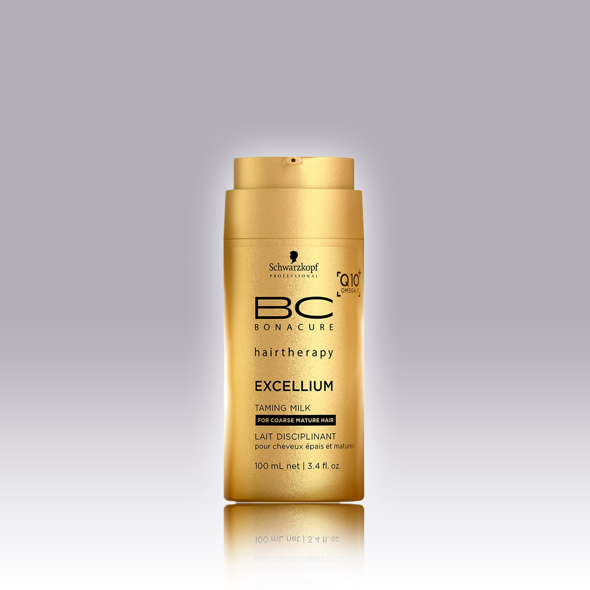 BC EXCELLIUM Q10 + Omega 3 Mléko pro zkrocení vlasů, 100 ml, 399 Kč
