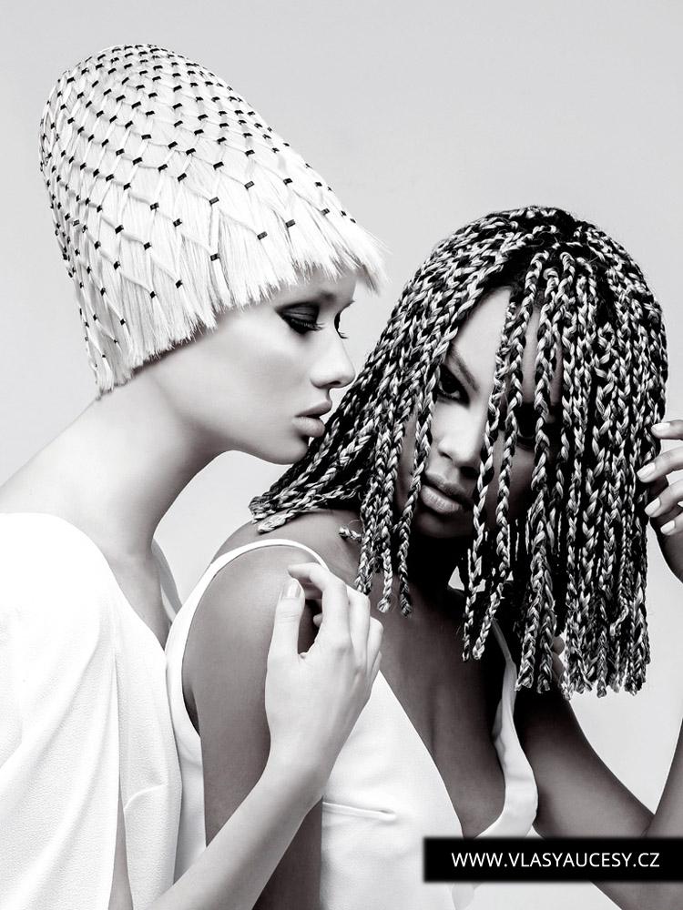 Dlouhé vlasy 2016 jako macramé. (Jamie Stevens / British Hairdressing Awards 2015)