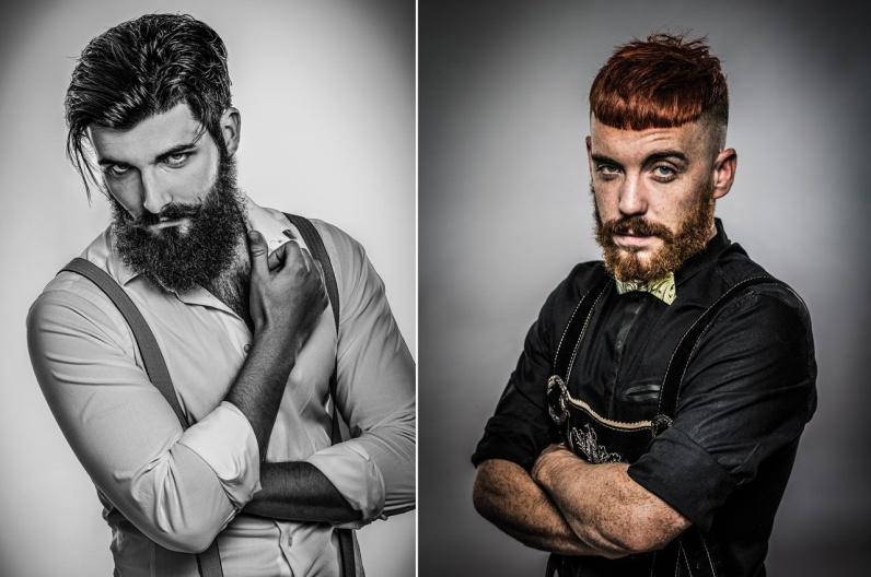 David Schwartz a jeho inspirativní plnovous 2016 – Austrian Hairdressing Awards 2015.