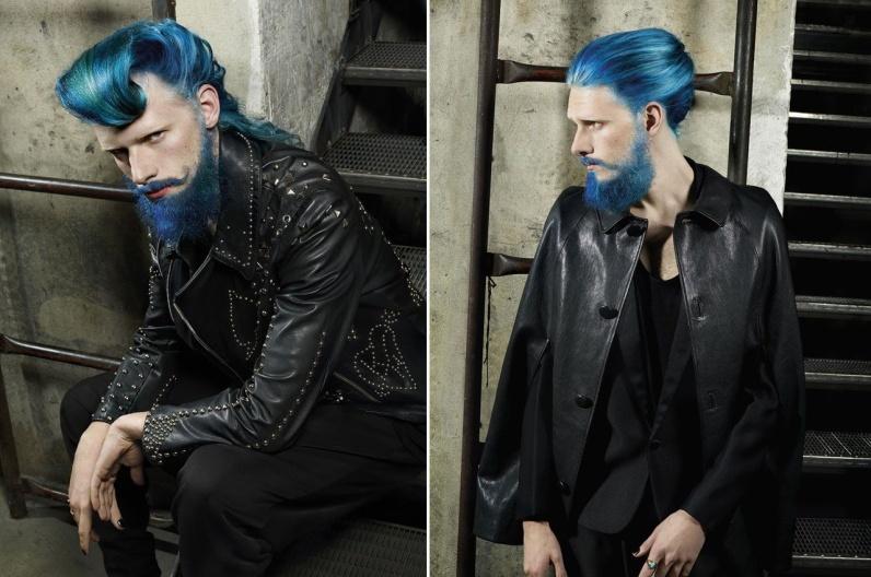 Martin Stückler a jeho inspirativní plnovous 2016 – Austrian Hairdressing Awards 2015.