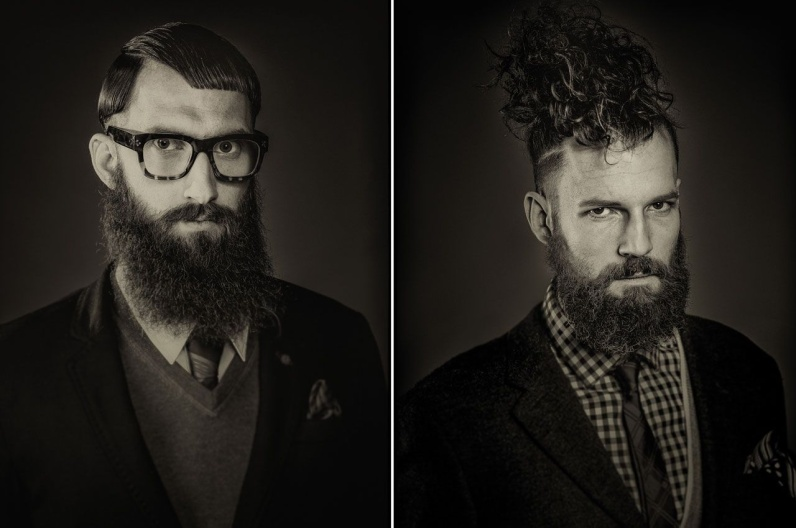 Rudi Zötsch a jeho inspirativní plnovous 2016 – Austrian Hairdressing Awards 2015.