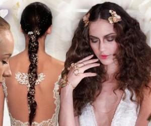 Jaké nápadité svatební účesy pro jaro a léto 2016 předvedli módní návrháři a jejich vlasový stylisté? Podívejte se na trendy pro svatební účesy 2016.