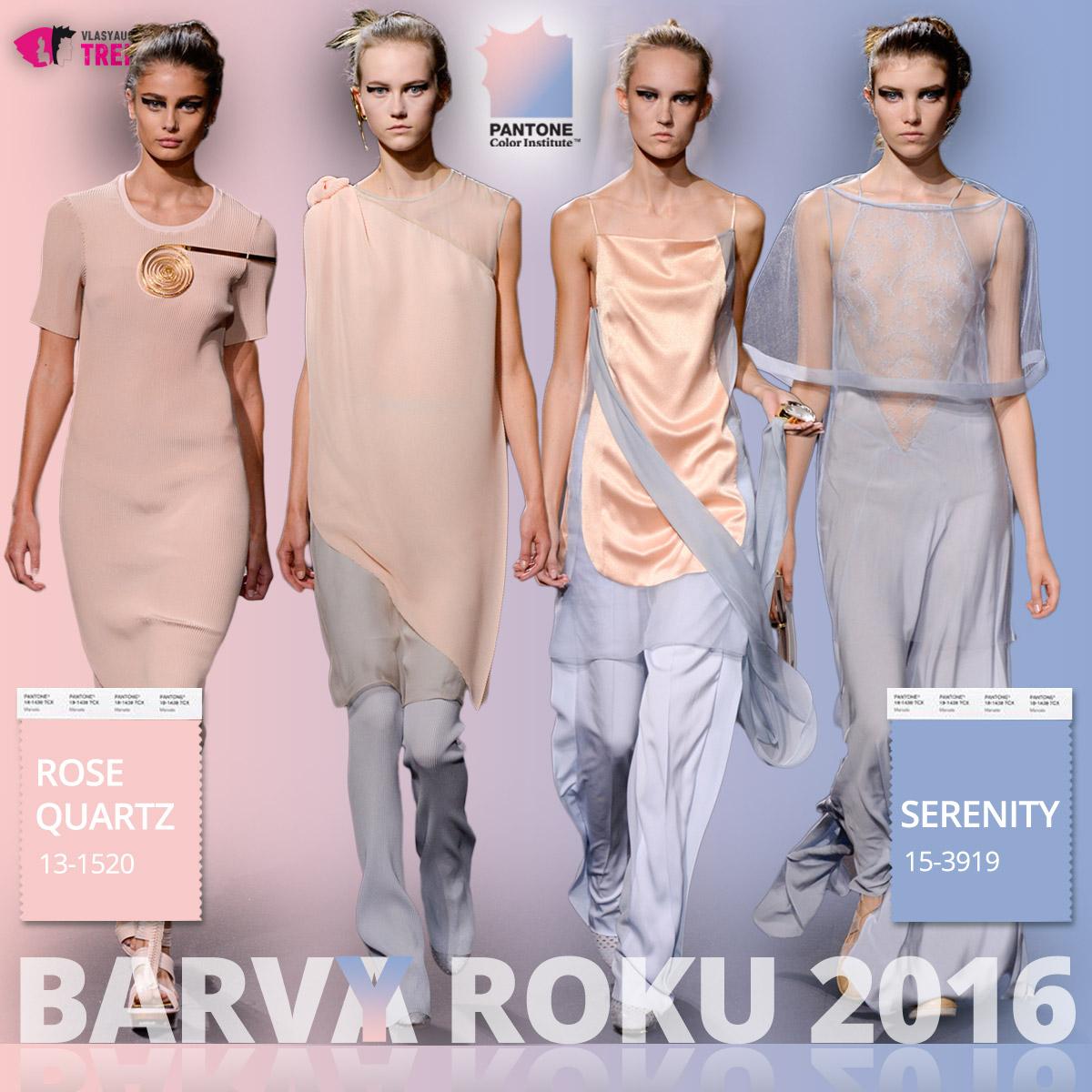 Barvy roku 2016 a móda Vionett – kolekce jaro/léto 2016.