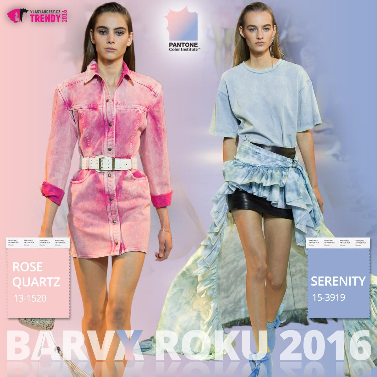 Barvy roku 2016 a móda Roberto Cavalli – kolekce jaro/léto 2016.