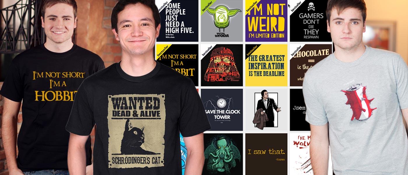 Pánská móda jako antidepresivum! Zvedněte si náladu – oblečte si ráno veselé tričko. Víme, kde tyto vtipná pánská trička s potiskem koupit.