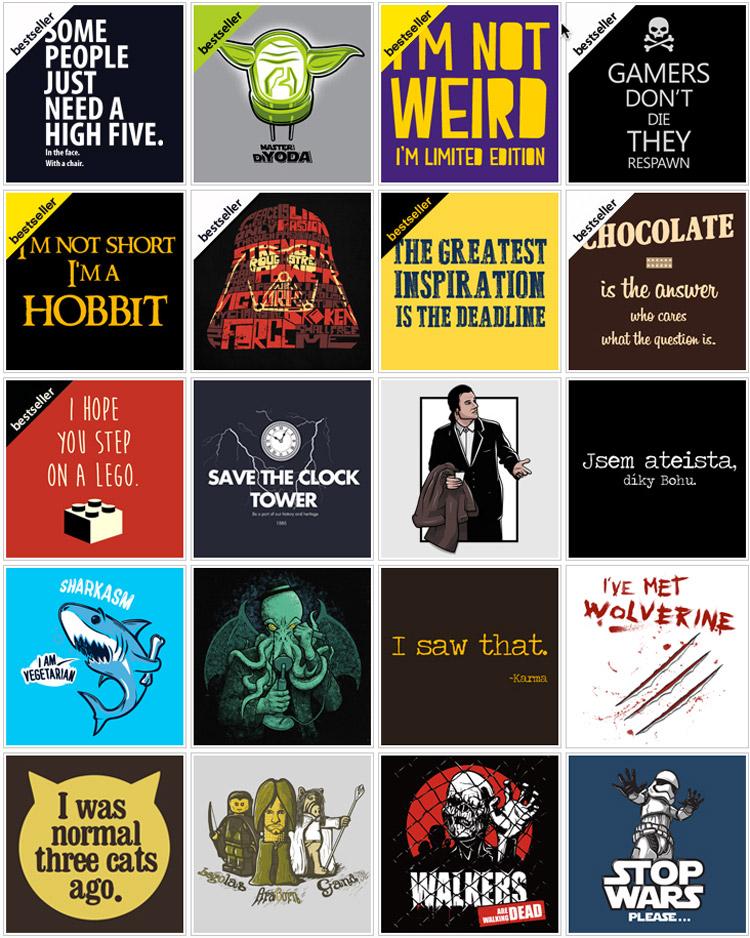 Vtipná trička i mikiny z Geekshirts – stačí si vybrat, co vás baví!