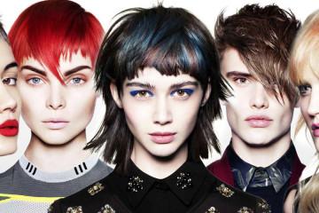 Melíry v účesech se nosí a skvělou ukázkou, jak může melír 2016 ve vlasech letos vypadat, je poslední kolekce Toni&Guy – Socialized.