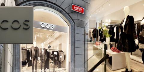 Mladší sestra H&M otevírá v pražské Pařížské ulici. COS obchod, který je tak oblíbený mezi milovníky luxusní módy po masy, je konečně i v Česku.