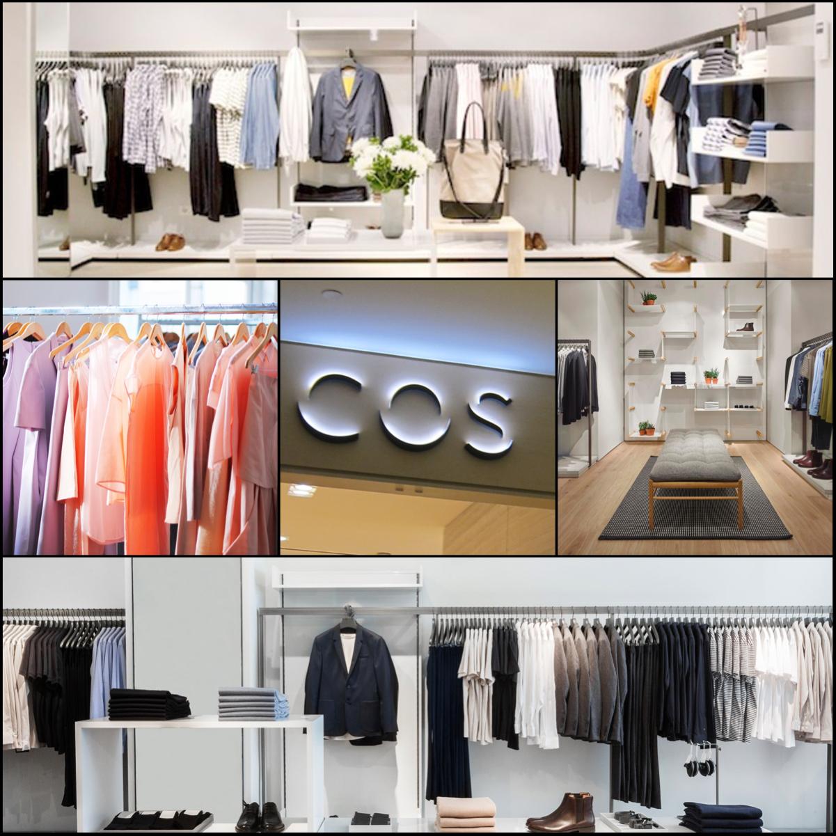 Obchod COS otevřel konečně i v Praze. Mladší sestra H&M si zakládá na filosofii – luxus pro masy a staví na minimalistické módě pro ženy i muže. (Ilustrační obrázek)