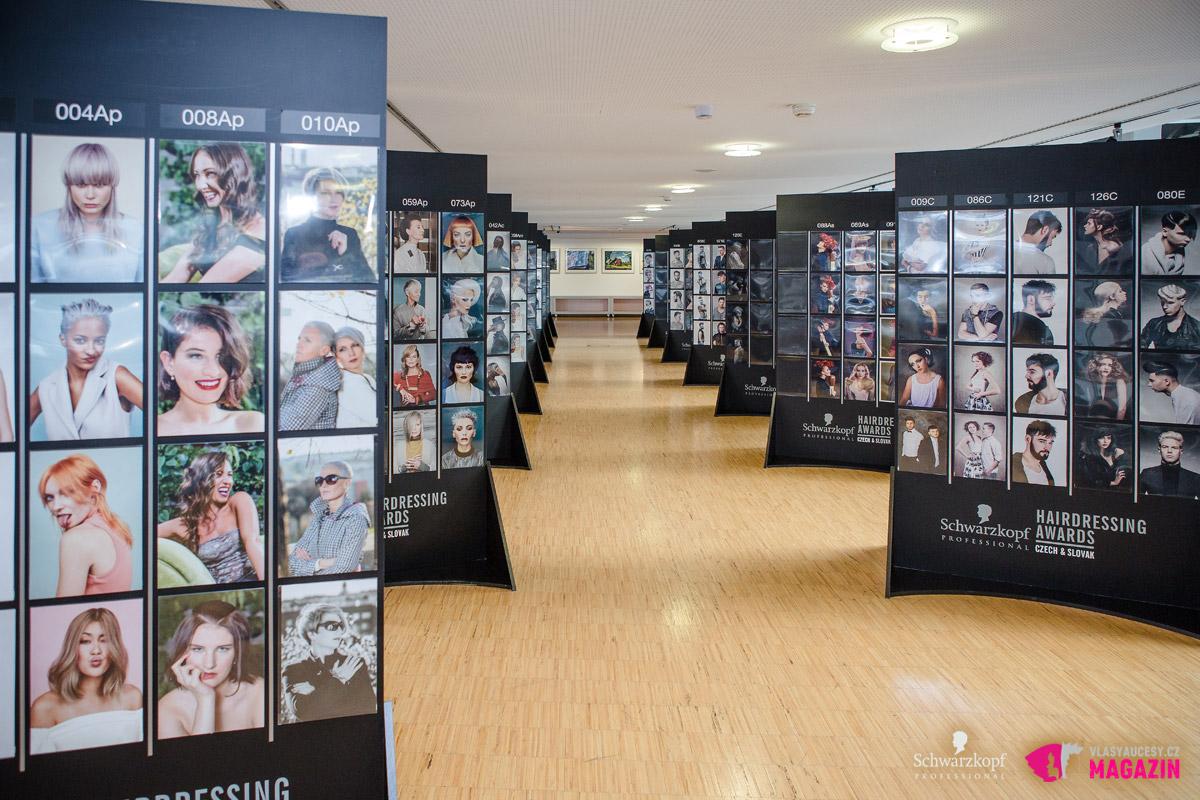 Czech&Slovak Hairdressing Awards 2015 neboli Kadeřník roku 2015: Takto měli porotci připravené kolekce kadeřníků k hodnocení.