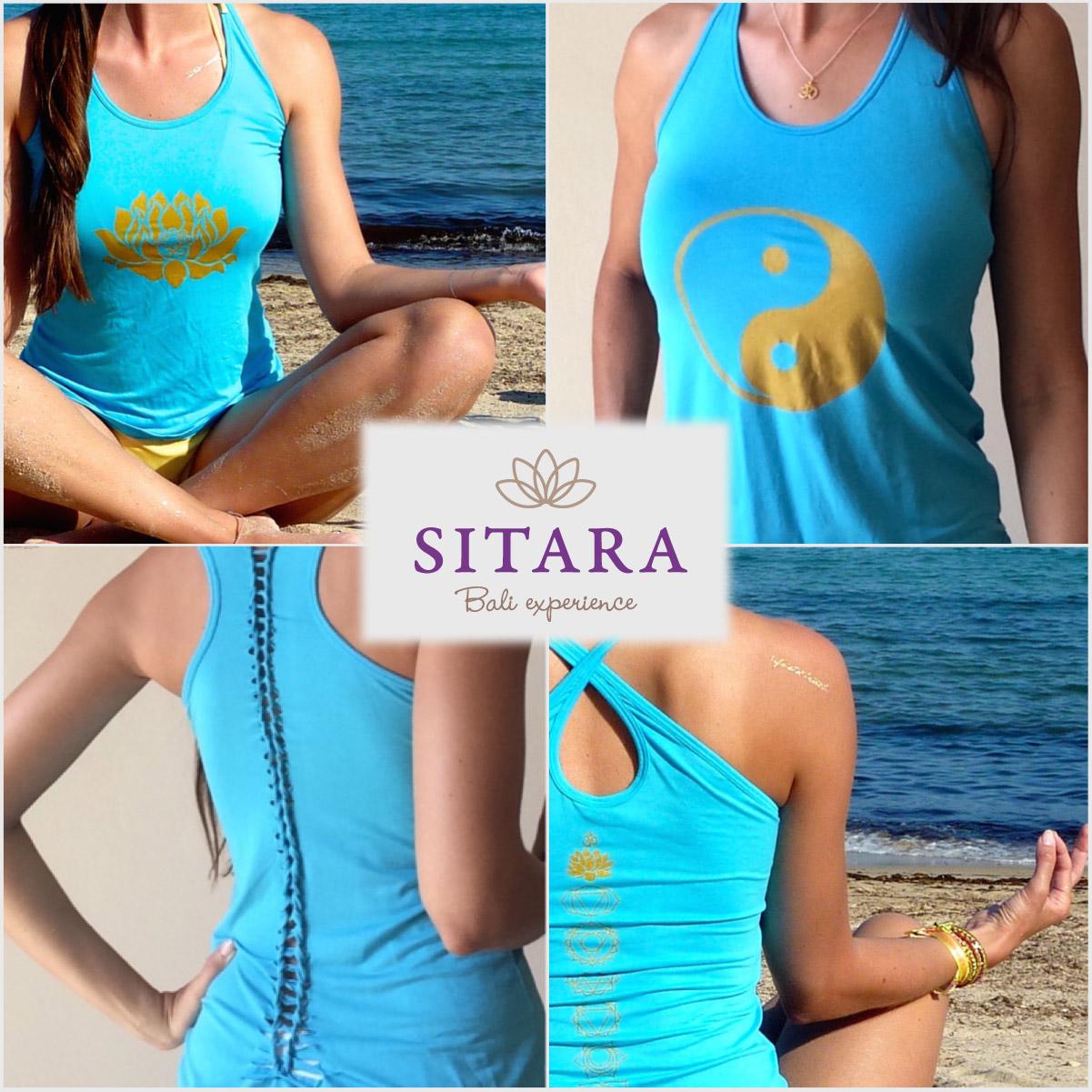 Oblečení na jógu Sitara pochází přímo z krásného ostrova Bali.