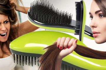 Dtangler znamená konec bolestivého kartáčování i vytrhaných vlasů. Rozčesávací hřeben si váží každého vlasu a pro jeho záchranu udělá naprosto vše.