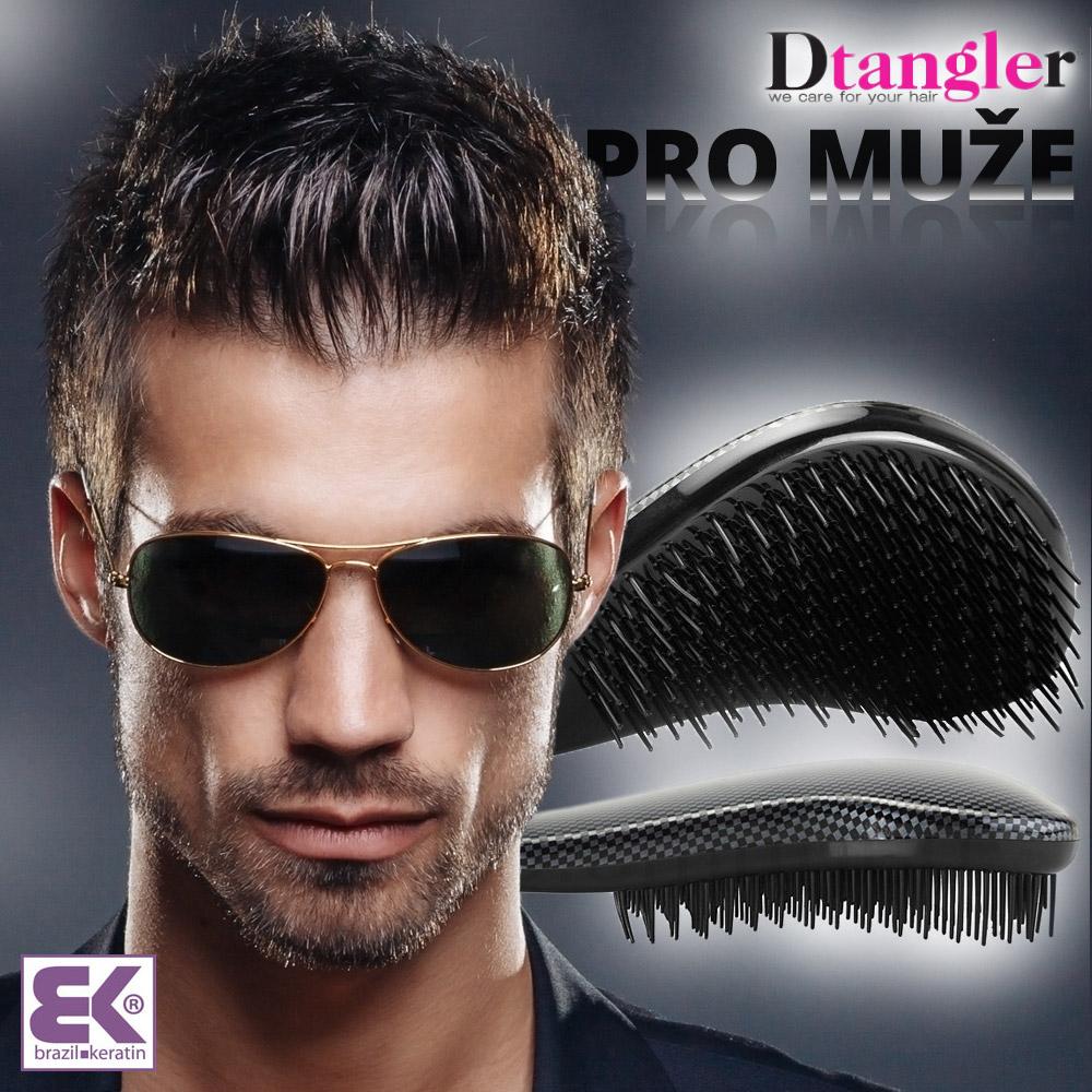Dtangler pro muže: Stylový a praktický Dtangler si vyberou i muži.