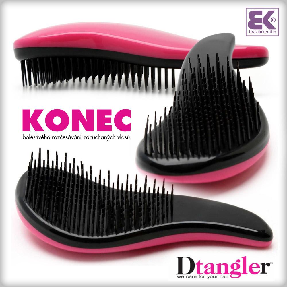 Dtangler znamená konec bolestivého rozčesávání zacuchaných vlasů i zbytečně vytrhaného vlasového porostu.