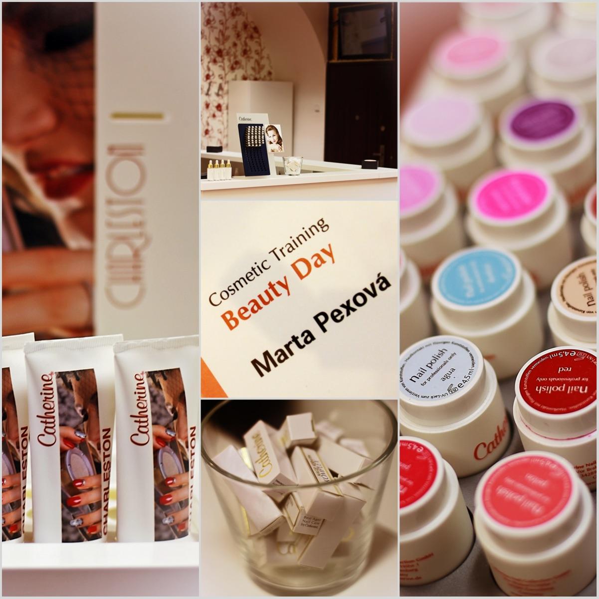 Nehtové studio Marta Pexová nepoužívá levné suroviny, ale velice kvalitní německou kosmetiku od společnost Catherine