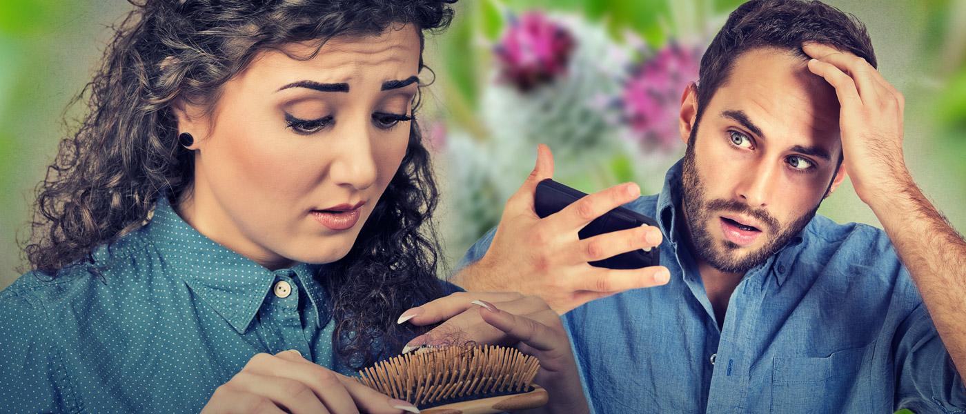 Vypadávání vlasů umí vyřešit bylinky. Které to jsou, to radí nejznámější česká bylinkářka Jarmila Podhorná.