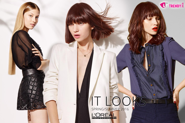 Barvy jara a léta podle nových účesů L'Oréal Professionnel.
