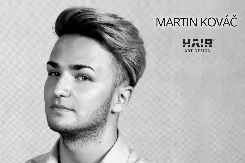 Martin Kováč, kadeřník a majitel plzeňského salonu Hair Art Design.