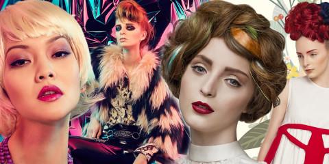 Soutěž Creative Image Team 2016 jde do finále. Finalisté soutěže pořádané v rámci veletrhu World of Beauty & Spa se utkají na téma Glam Rock.