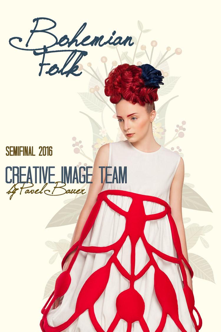 Tématem semifinálového kola soutěže Creative Image Team 2016 byl Bohemian Folk.