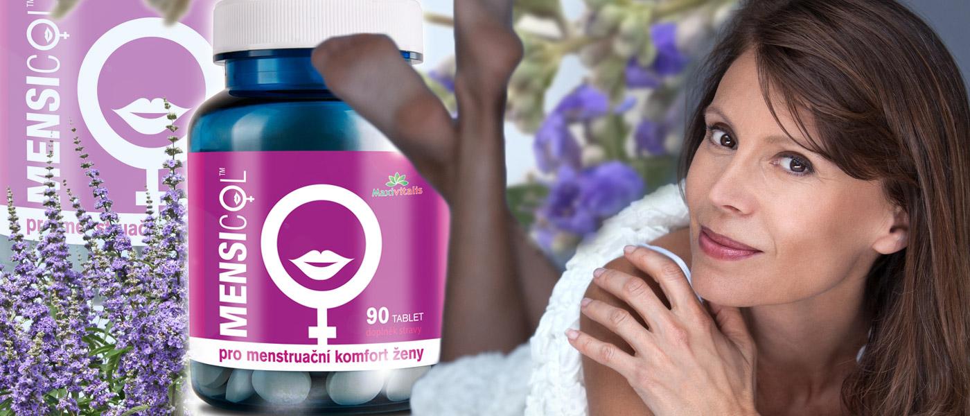 Bolestivá menstruace i potíže s klimakteriem mohou být minulostí. Mensicol je doplněk stravy určený zejména pro nás ženy a pro náš menstruační komfort. Obsahuje drnek obecný.