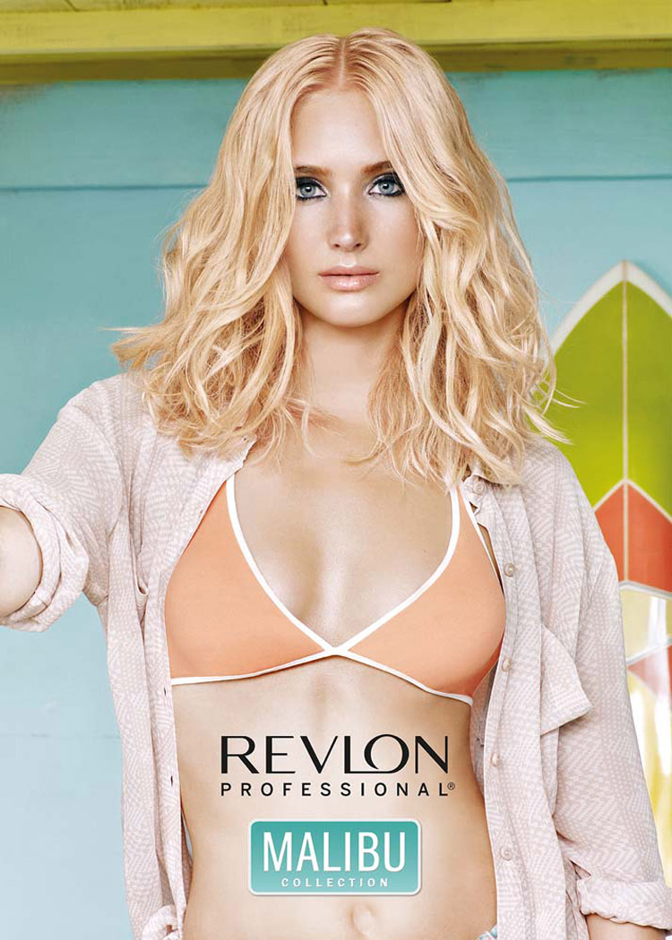 Dámské účesy 2016 podle Revlon Professional a trend Blondré.