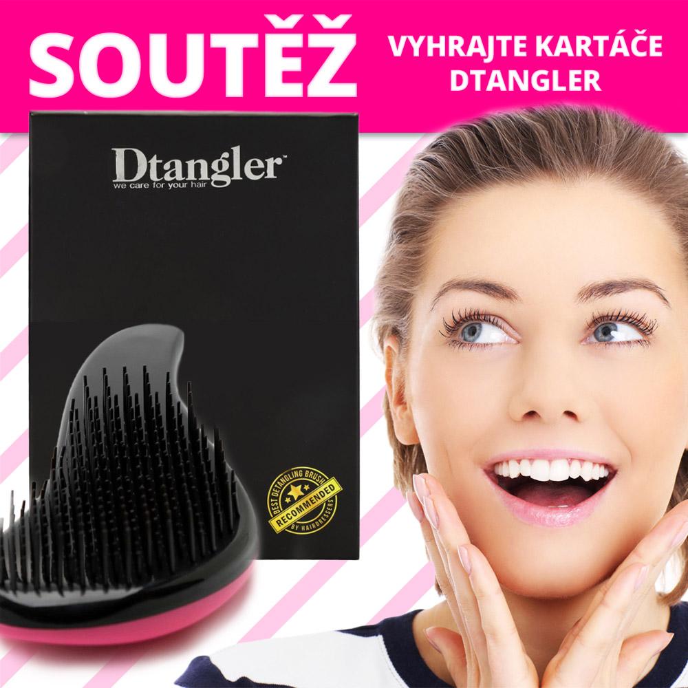 Zapojte se do soutěže o speciální kartáče na vlasy Dtangler.