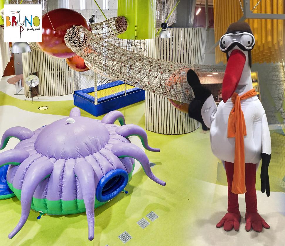 Kdo hledá zábavu pro děti a celou rodinu, najde ji v Brně. Zábavný park BRuNO je vyhledávanou brněnskou turistickou atrakcí.