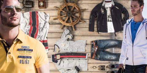 Úspěch každého muže spočívá vosobitém stylu oblékání. Vyzkoušejte módu pro muže CAMP DAVID.