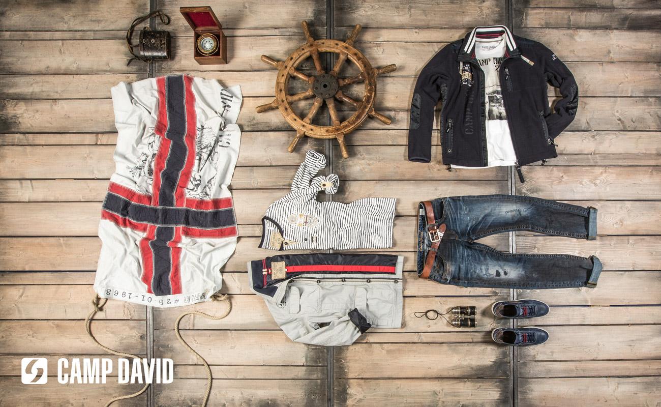 Pánské oblečení CAMP DAVID je to pravé pro úspěšnou image každého muže. Značku prodává butik Mary-fashion.cz.