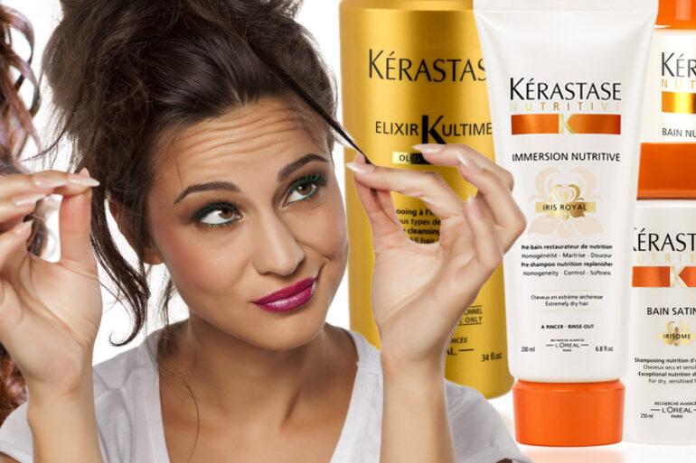 Šampony Kérastase pro suché vlasy patří mezi to nejlepší pro každou z nás, které se potýkáme právě s problémem přesušených vlasů. Tady je šest hrdinů!