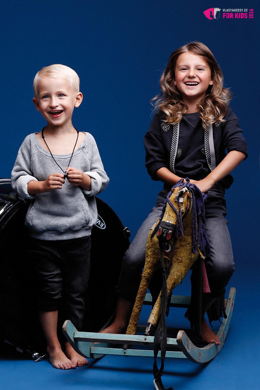 Dětské účesy 2016 z kolekce ORIGIN KIDS Petry Měchurové.