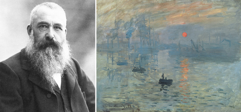 Claude Monet a jeho obraz Imprese, východ slunce