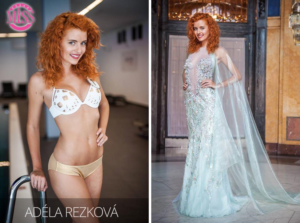 "Finalistka č.7 Česká Miss 2016 Adéla Rezková (plavky: <a href=""http://www.anrdoezrs.net/links/7863143/type/dlg/http://www.astratex.cz/plavky/"" target=""_blank"">Astratex</a>, šaty: Blanka Matragi)"