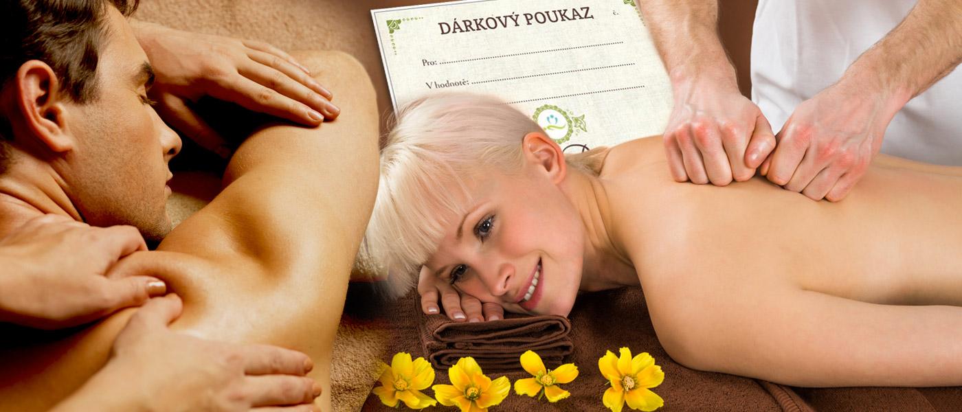 Zdraví je nejlepší dárek! Věnujte dárkový poukaz na masáž od profesionálního fyzioterapeuta, který přijede za vámi až domů kamkoliv po Praze.