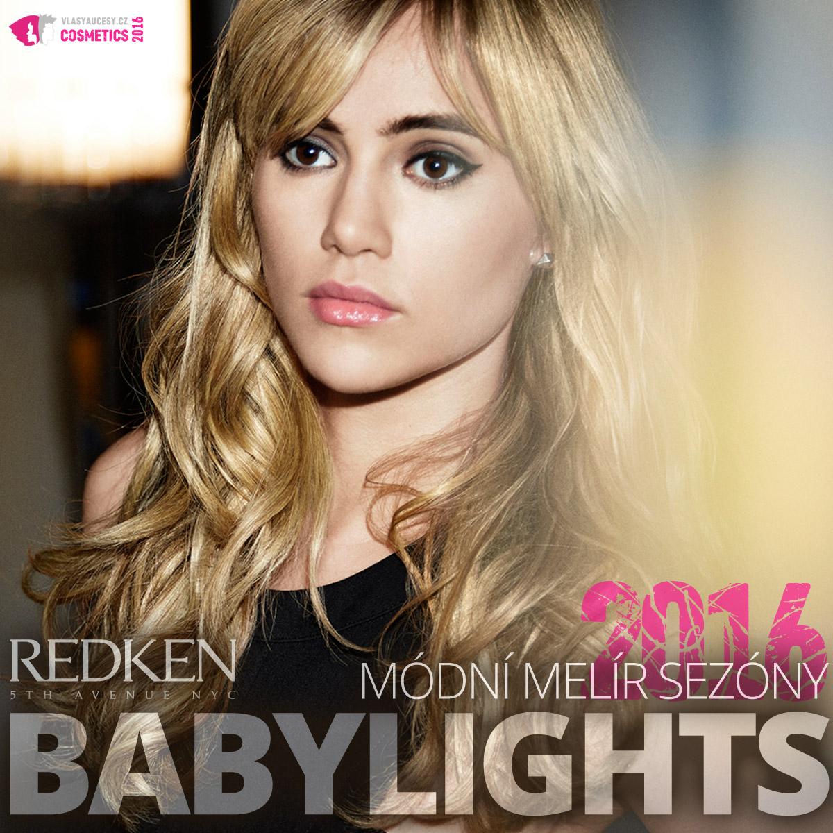 Babylights 2016 je módní melír sezóny. Zkuste jej podle Redken.