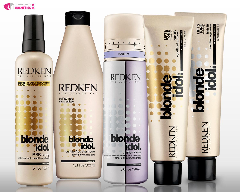 Řada Blonde Idol od Redken je speciálně navržená pro potřeby blond vlasů. Zachovává jejich původní odstín a poskytuje jim potřebnou péči.