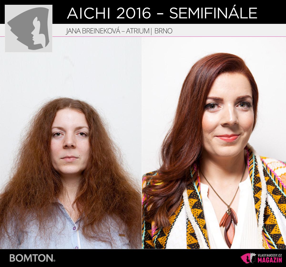 Jana Breineková – Atrium, Brno | Proměny AICHI 2016 - postupující do semifinálového kola