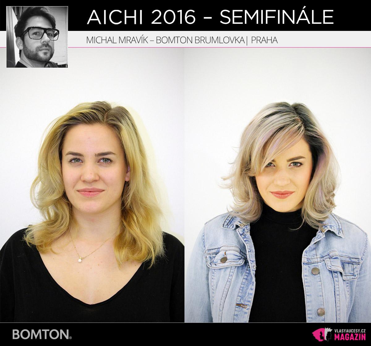 Michal Mravík – Bomton Brumlovka, Praha | Proměny AICHI 2016 - postupující do semifinálového kola