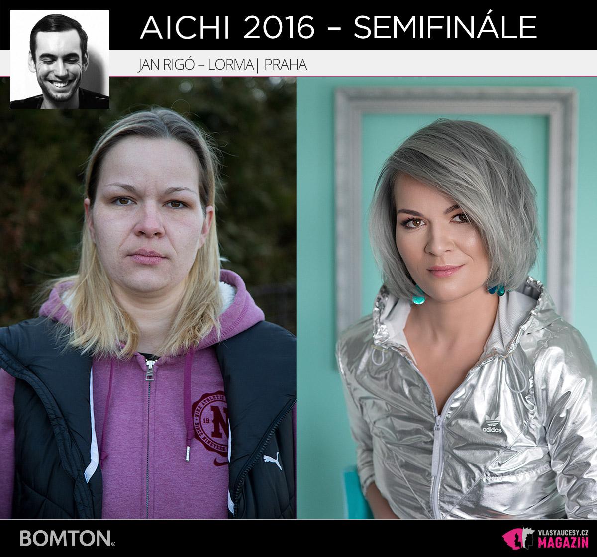 Jan Rigó – Lorma, Praha | Proměny AICHI 2016 - postupující do semifinálového kola