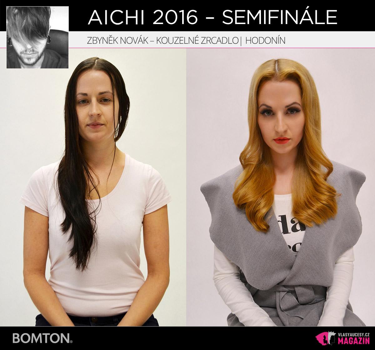 Nominační proměna AICHI 2016: Zbyněk Novák, kadeřnictví Kouzelné zrcadlo, Hodonín
