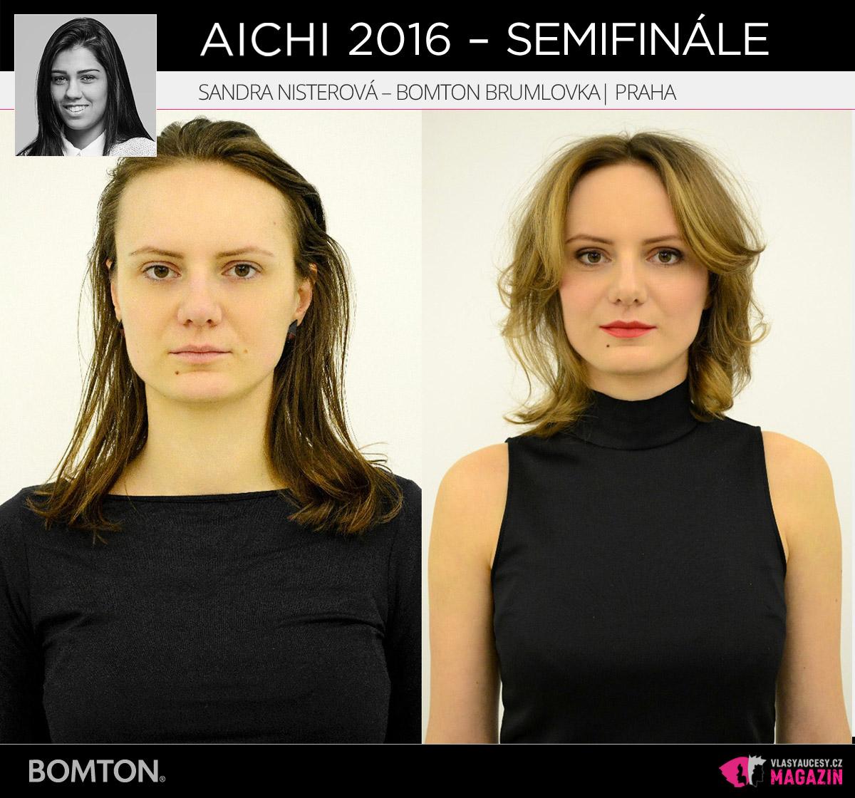 Sandra Nisterová – Bomton Brumlovka, Praha | Proměny AICHI 2016 - postupující do semifinálového kola
